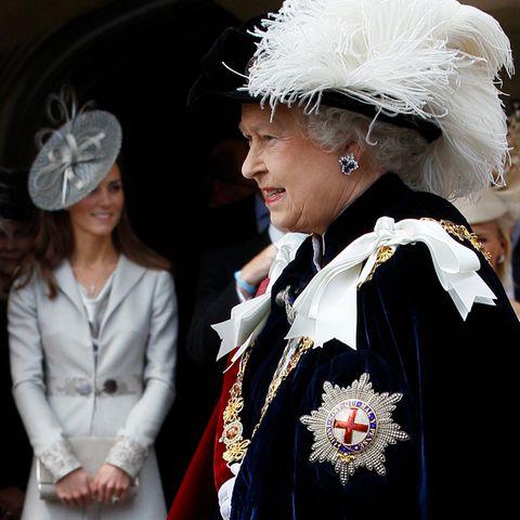Herzogin Catherine musste sich den Segen von Queen Elizabeth erst verdienen