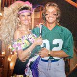 An Karneval Mitte der 80er-Jahre probiert sich Carmen Geiss schon einmal an einer blonden Mähne aus. Wenig später wird aus der Perücke Realität.