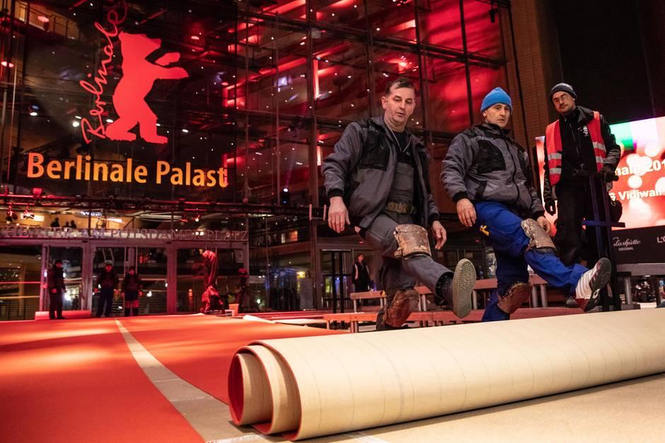 Berlinale 2019 - der Teppich wird ausgerollt