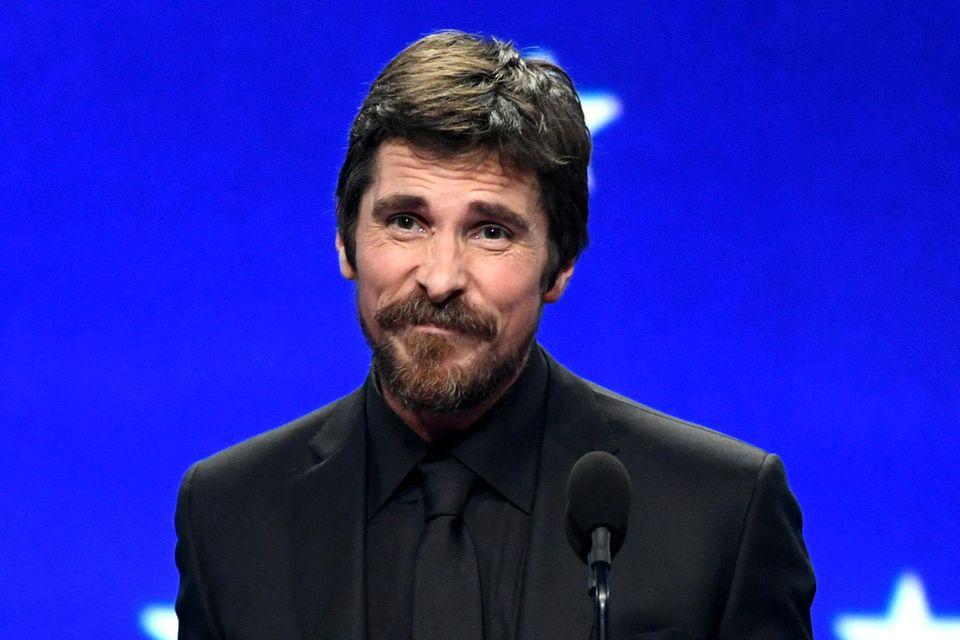 "Gerade erst gewann Christian Bale für ""Vice"" einen Critics' Choice Award."