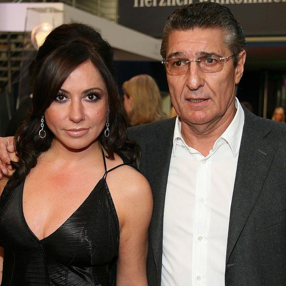 Simone Thomalla und Rudi Assauer im Oktober 2008.