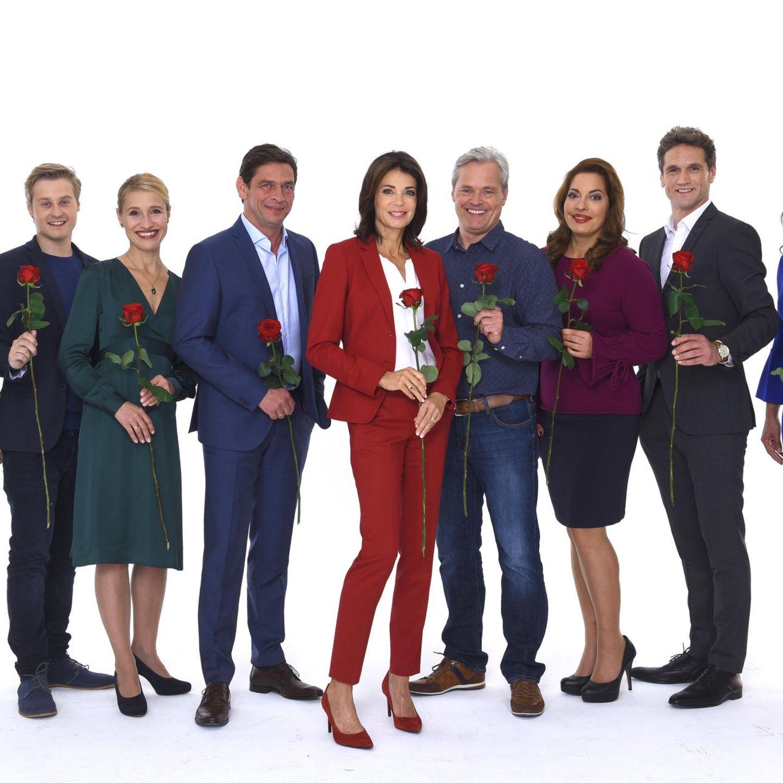 Der Cast von Rote Rosen