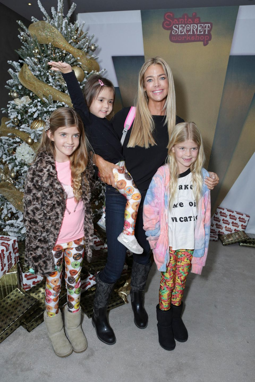 Denise Richards und ihre Töchter Sam, Eloise und Lola(v.l.n.r.)