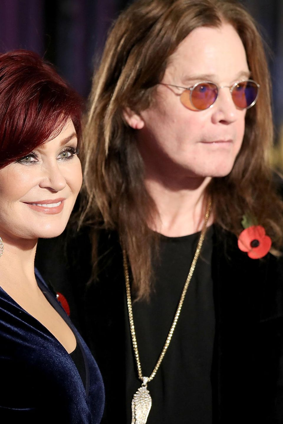 Sharon + Ozzy Osbourne