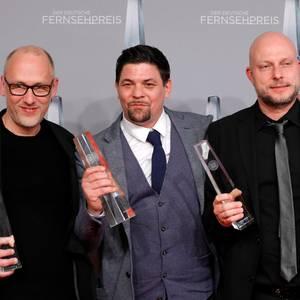 """Tim Mälzer und Teammitgleider von """"Kitchen Impossible""""."""