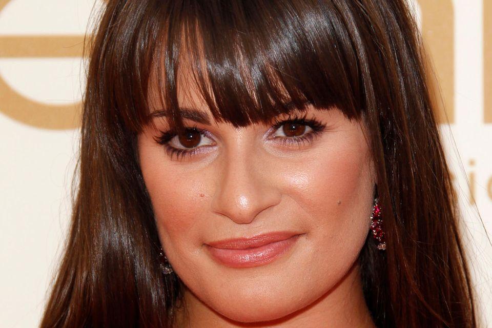 Lea Michele ist bekannt für ihren Pony