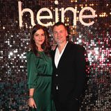 Schauspielerin Susan Hoecke und Heine-Chef Maximilian Lang.