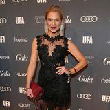 Wow! Valentina Pahde beweist: Ein schwarzes Kleid kann sowohl elegant, als auch sexy und aufregend sein – ein Red-Carpet-Look der immer geht!