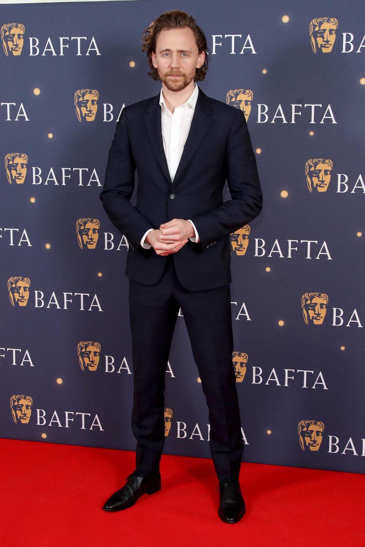 8. Februar 2019  Auch Tom Hiddleston besucht die Veranstaltung im Savoy Hotel.