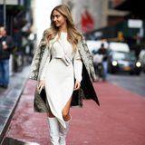 Wie ein echter Hollywood-Star: Model und Influencerin Ann-Kathrin Brömmel besucht aktuell die Fashion Week in New York und zeigt sich dort von ihrer besten Seite. Sie ist ein echter Profi und beliebtes Fotomotiv - doch sie ist nicht allein in den USA unterwegs ...