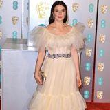 Haute Couture oder Omas alte Gardine? Rachel Weisz in einer Sonderanfertigung von Gucci.