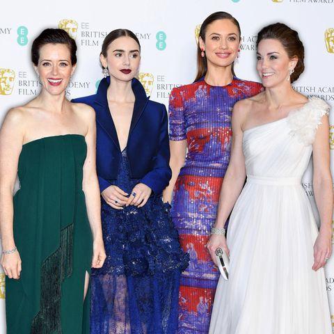 Die Style-Tops und Fashion-Flops der Baftas 2019