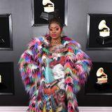 RapperinTierra Whack ist so farbenfroh gar nicht zu übersehen.