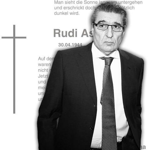 Rudi Assauer, Todesanzeige