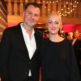 Amüsieren sich prächtig: Heine-Chef Maximilian Lang und Constanze Kucharski (Pressesprecherin Heine)