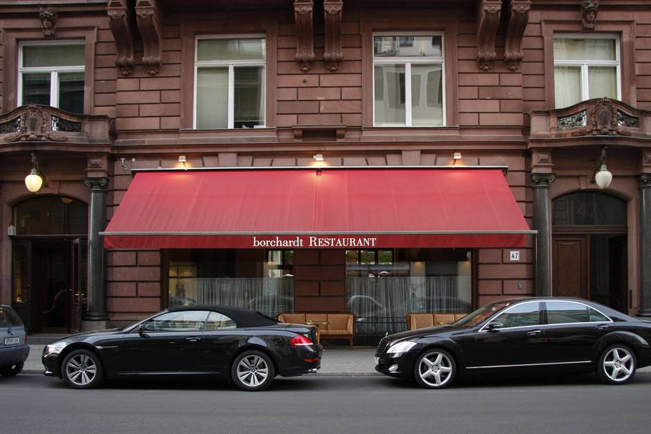 "Restaruant ""borchardt"" in Berlin"