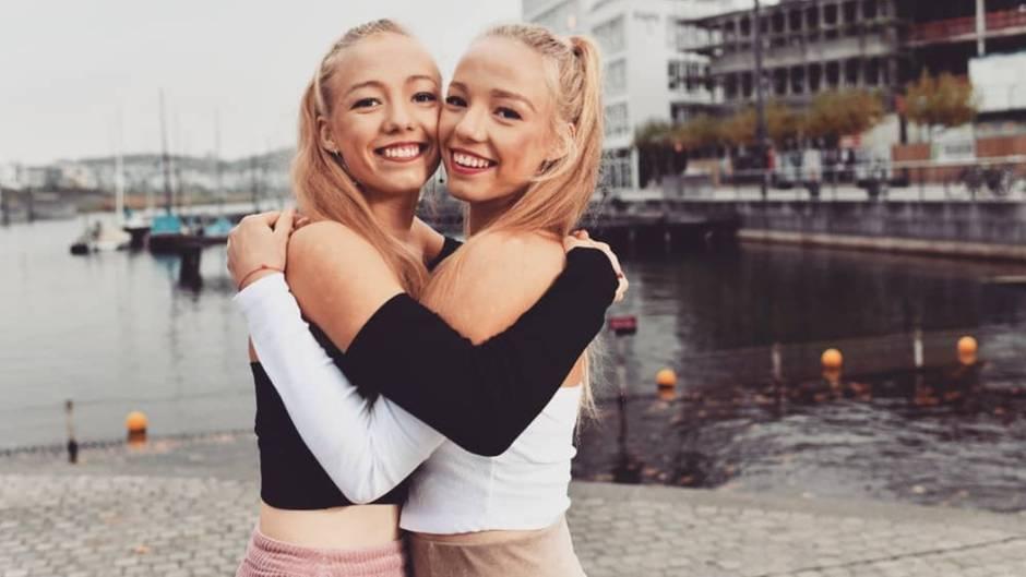 Shooping Queen : Die Tennis-Zwillinge Yana und Tayisiya Morderger enthüllen ihr Geheimnis
