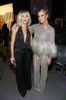 After Grammy: Julianne Hough + Ashlee Simpson