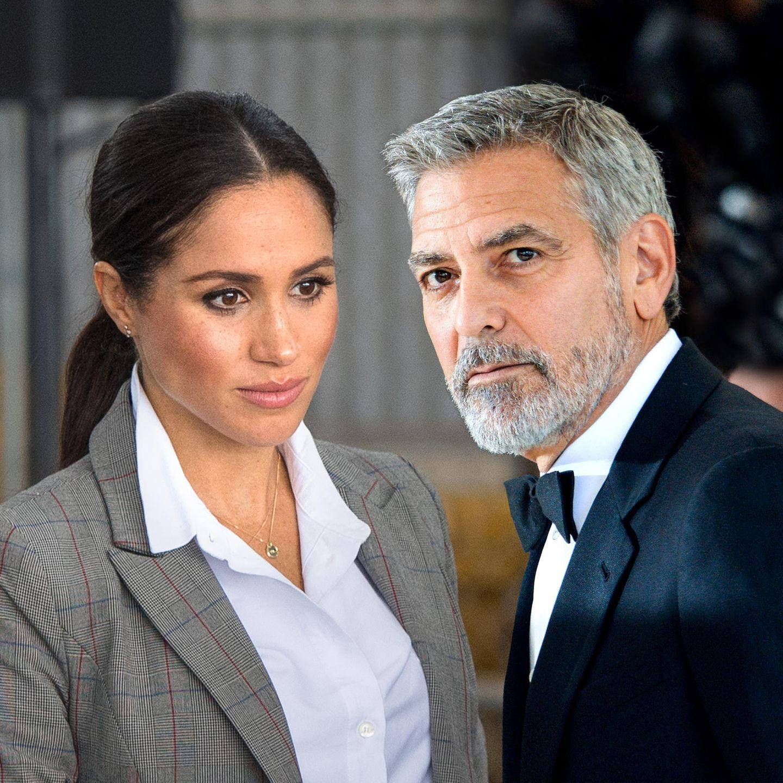 Herzogin Meghanund George Clooney