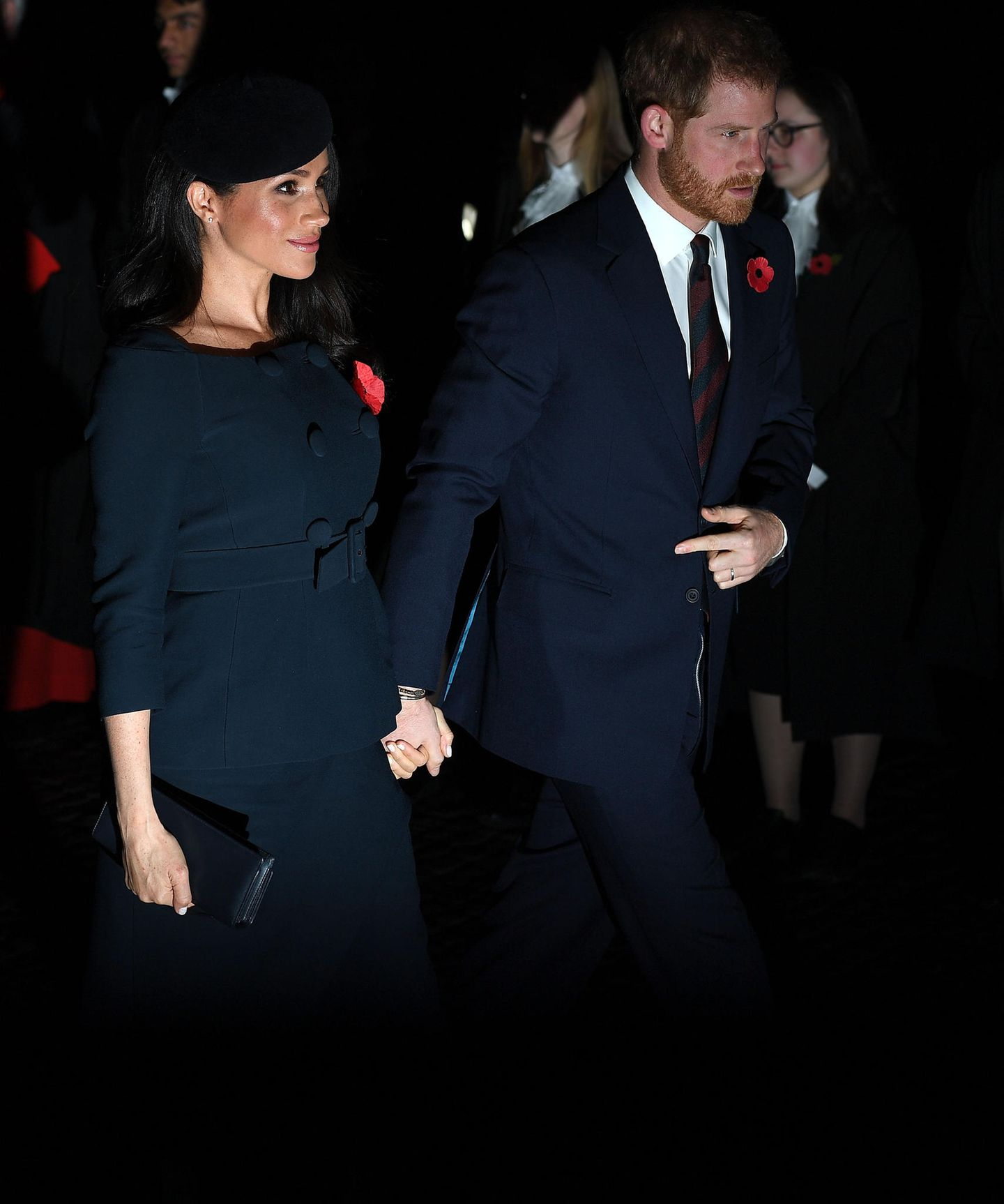 Herzogin Meghan und Prinz Harry am 11. November 2018 in London