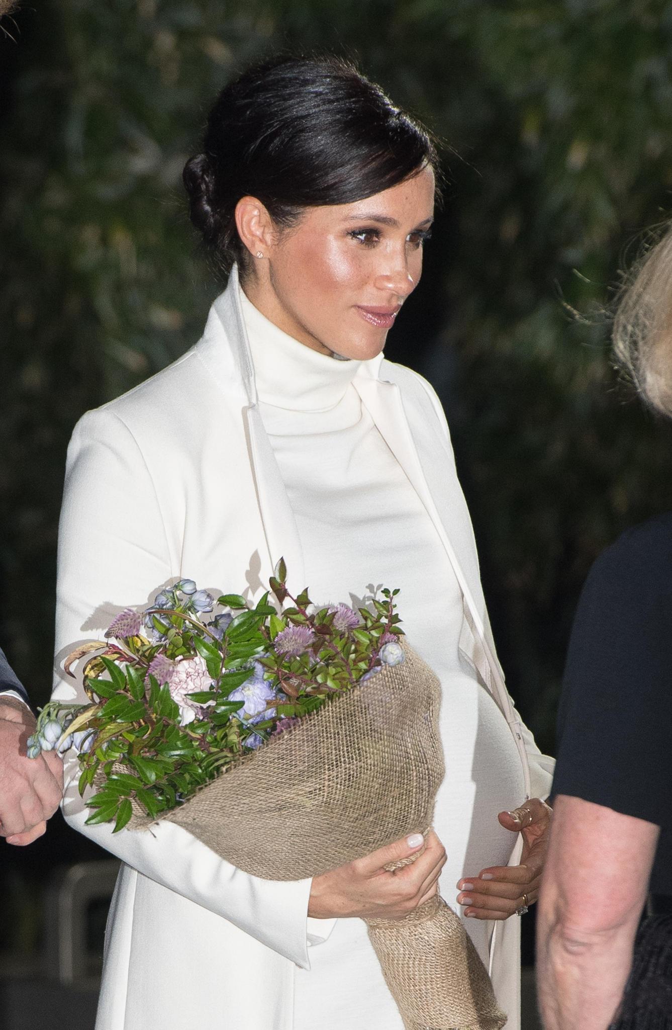 Herzogin Meghan am 12. Februar 2019 in London
