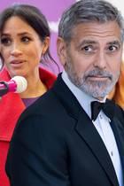 George Clooney setzt sich für die schwangere Frau von Prinz Harry ein. Herzogin Meghan sollte nicht so behandelt werden.