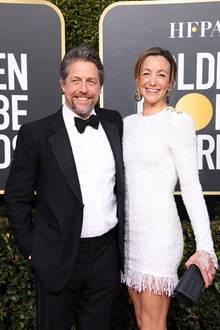 Hugh Grant  Im Alter scheint der Schauspieler es eilig zu haben: Anders sind 5 Kinder (von 2 Frauen) in sieben Jahren nicht zu erklären. Hugh hat im Jahr 2018 Anna Elisabet Eberstein nicht nur geheiratet, er hat auch noch im selben Jahr, im Alter von 57 Jahren, eine Tochtervon ihr geschenkt bekommen. Es ihr mittlerweile drittes gemeinsames Kind.