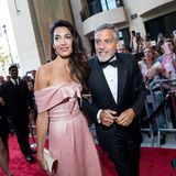 """George Clooney  """"Ich glaube nicht, dass ich jemals heirate oder Kinder bekomme"""", sagt der Frauenmagnet einst während eines Interviews im Jahr 2008. Im Jahr 2014 heiratet er Star-Anwältin Amal Alamuddin undwird 2017 (im alter von56 Jahren) Papa von Zwillingen."""