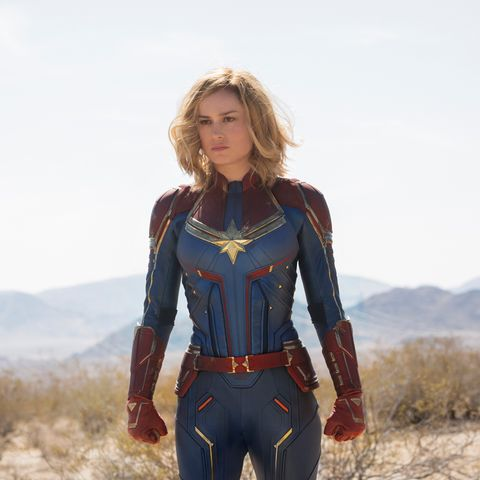 Brie Larson als Captain Marvel