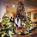 Auf ihrem Instagram-Kanal geht es heute vor allem um Luxus, Urlaub und Markenkleider. Georgina lebt ihren 19 Tausend Followern ein glamouröses Leben vor, zeigt sich in Pelz und Minirock. Die rote Mähne hat sie immer noch.