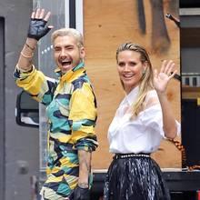 Bill Kaulitz + Heidi Klum