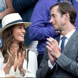 Herzogin Catherines Schwester Pippa Middleton ist seit 2017 glücklich mit James Matthews verheiratet.