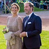 Sie halten allen Krisengerüchten zum Trotz zusammen: Prinzessin Madeleine wohnt mit ihrem Mann Chris O'Neill und den drei gemeinsamen Kindern in Florida.