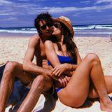 Alessandra Ambrosio zeigt sich am liebsten in der Sonne am Strand. Am Valentinstag macht das Supermodel keine Ausnahme. Der schmucke Herr an ihrer Seite ist der italienische Modelabelgründer Nicolo Oddi.