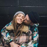 """An diesem Tag kommt Justin Timberlake in romantische Stimmung. """"Jeden Tag Valentinstag, seit ich dich gefunden habe"""", schreibt der Sänger liebevoll."""