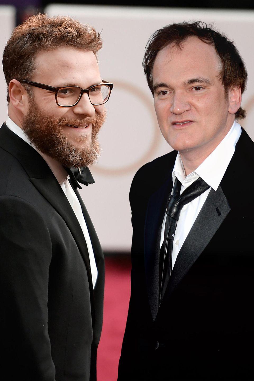 Seth Rogen, Quentin Tarantino