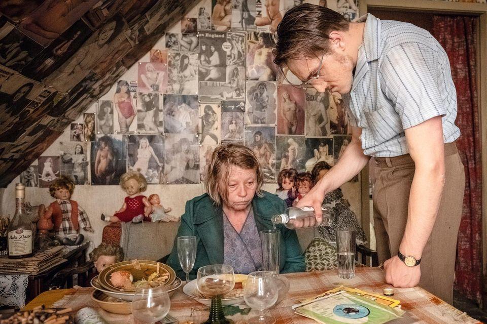 Fritz Honkas Wohnzimmer in Akins Kinofilm