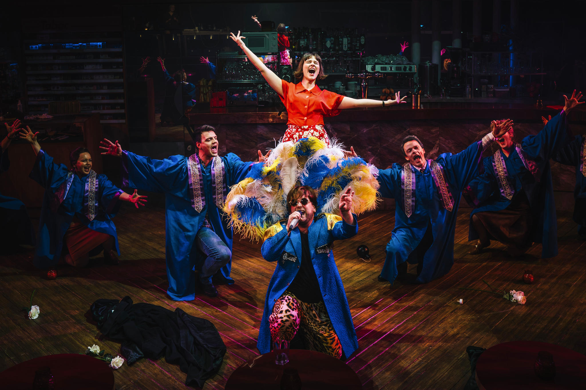 """München: Das Musical """"Die fabelhafte Welt der Amélie"""" feiert Premiere imWERK 7 Theater"""