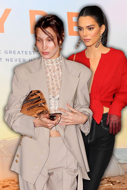 """Bella Hadid undKendall Jenner machten beide Promo für das """"Fyre Festival"""""""