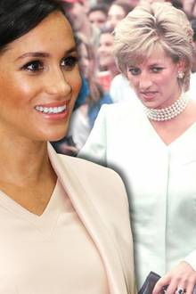 Herzogin Meghan und Prinzessin Diana sind sich nie begegnet