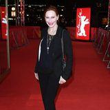 Andrea Sawatzki setzt auf nüchterne Eleganz statt auf Red-Carpet-Glamour