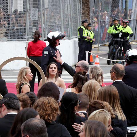 Bei der Oscarverleihung herrscht oberstes Sicherheitsgebot.