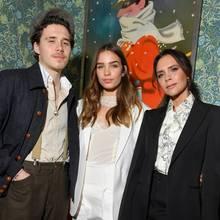 Brooklyn Beckham, Hana Cross + Victoria Beckham