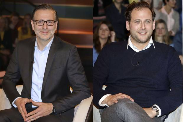 Detlev Kümmel und Kunsthändler Julian Schmitz-Avila bei Markus Lanz