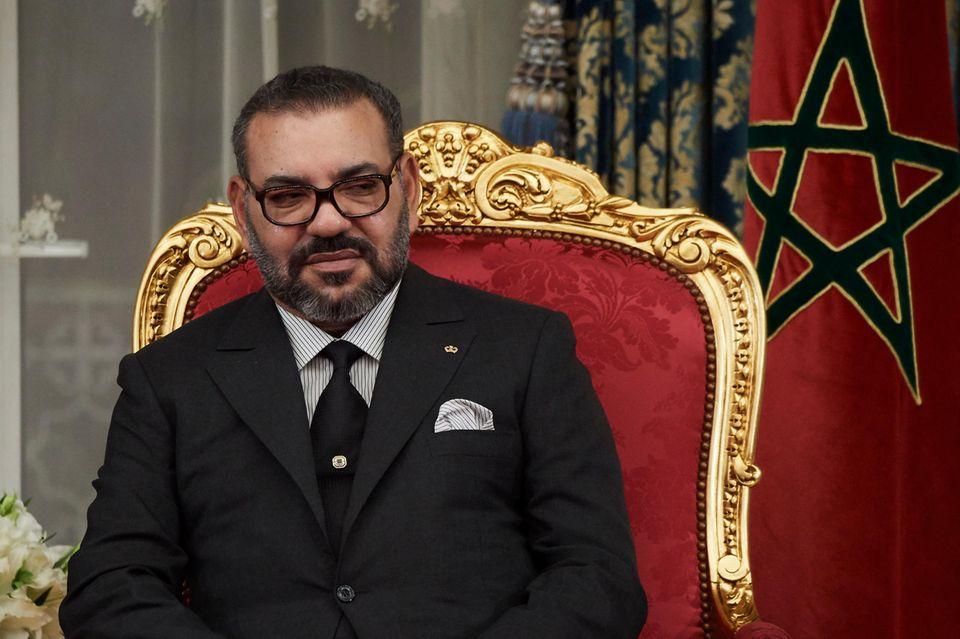 König Mohammed VI. im Februar 2019