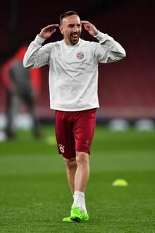 Franck Ribéry freut sich über Baby Nummer fünf