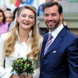 19. Oktober 2012  Kurz vor der kirchlichen Hochzeit findet die standesamtliche Trauung statt.