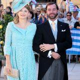 21. September 2013  Im September 2013 sind sie Gäste bei der Hochzeit von Guillaumes Bruder Prinz Félix von Luxemburg und Prinzessin Claire.