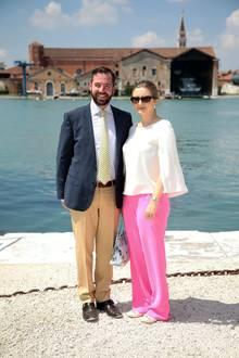 13. Mai 2017  Guillaume und Stéphanie besuchen gemeinsam die 57. Biennale in Venedig.