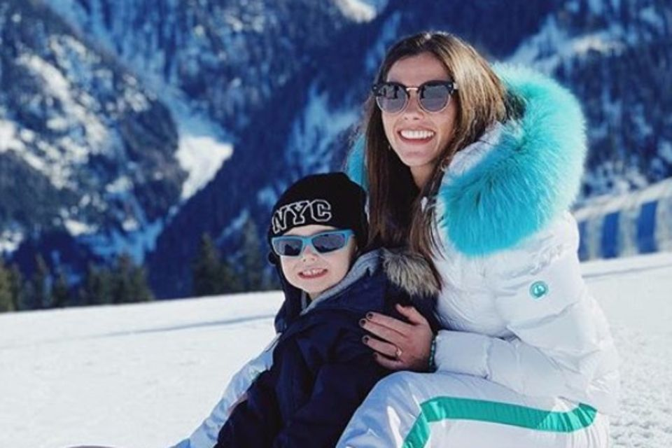 Sarah Lombardi und ihr Sohn Alessio